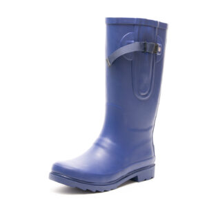 French Navy Wellies By The Wide Welly Company