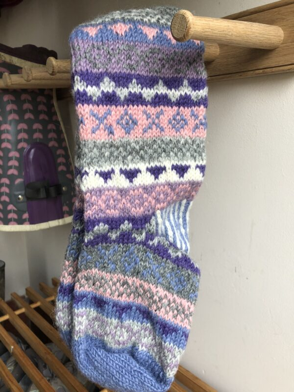 Jacaranda Finisterre Long Welly Socks